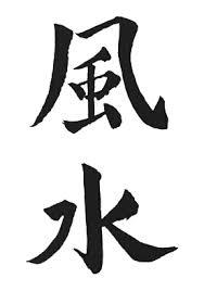 Feng Shui - idéogramme chinois