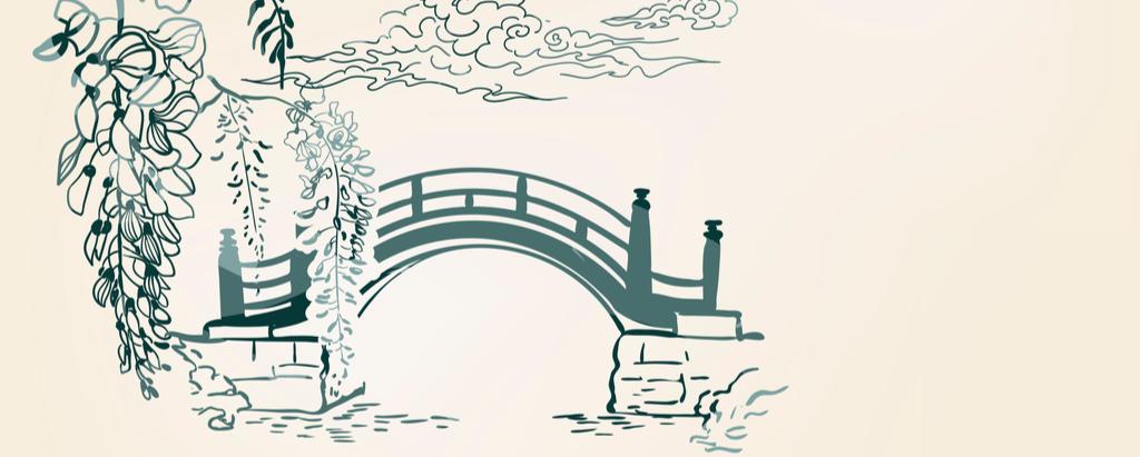 Pont habitat Feng Shui